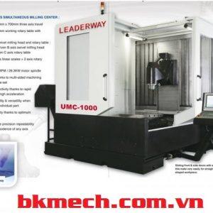 Máy phay CNC Đài Loan LEADERWAY UMC-1000
