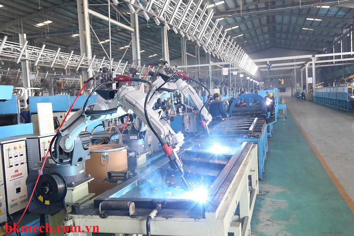 Robot hàn Mig xu hường phát triển trong các nhà máy thời kỳ công nghệ 4.0